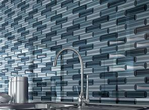 Different kinds of backsplash tile