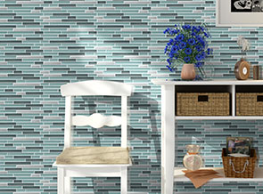 What do you know about blue glass mosaic tiles