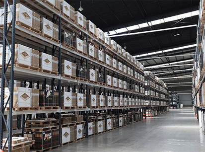 Tiles Production, shipping & delivery